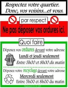 3.2.2 Outils de sensibilisation _Affiche_Dépôt_sauvage_Vente d'affiche en français